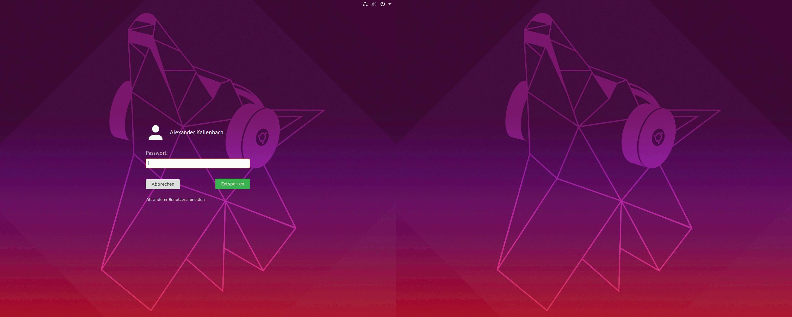 GDM-Login-Screen: Eigenes Hintergrundbild auf zwei Monitoren  